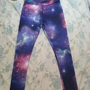 Zone pro galaxy leggings Sz Large